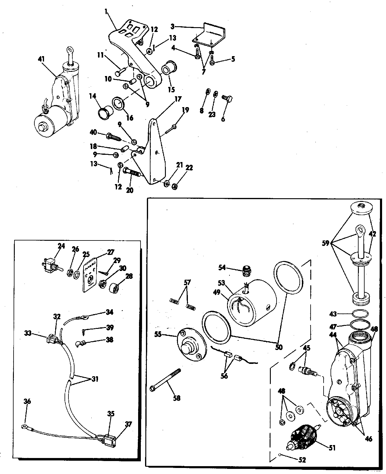 [WRG-6653] 65 Hp Evinrude Wiring Diagram