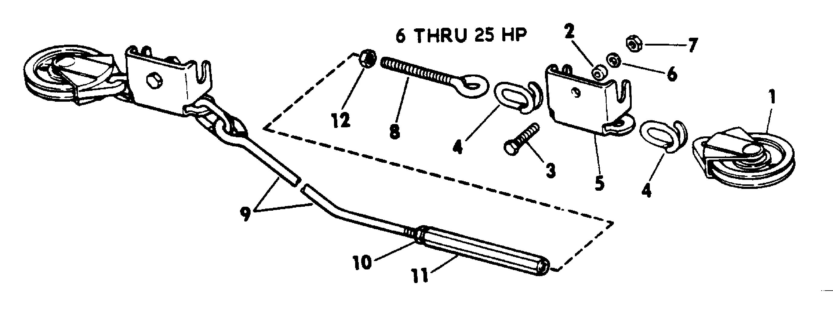 remote ctrl Steering 1972 Accessories for 1972 Johnson