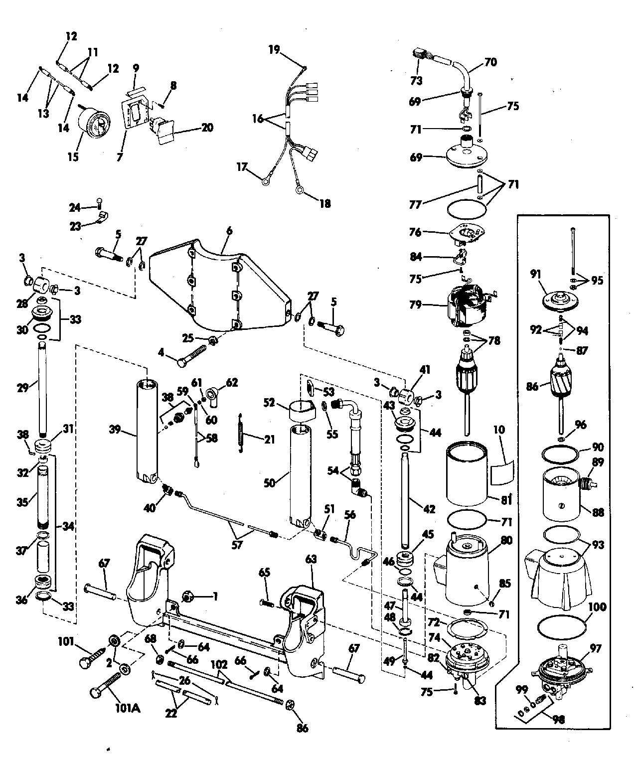hight resolution of engine section