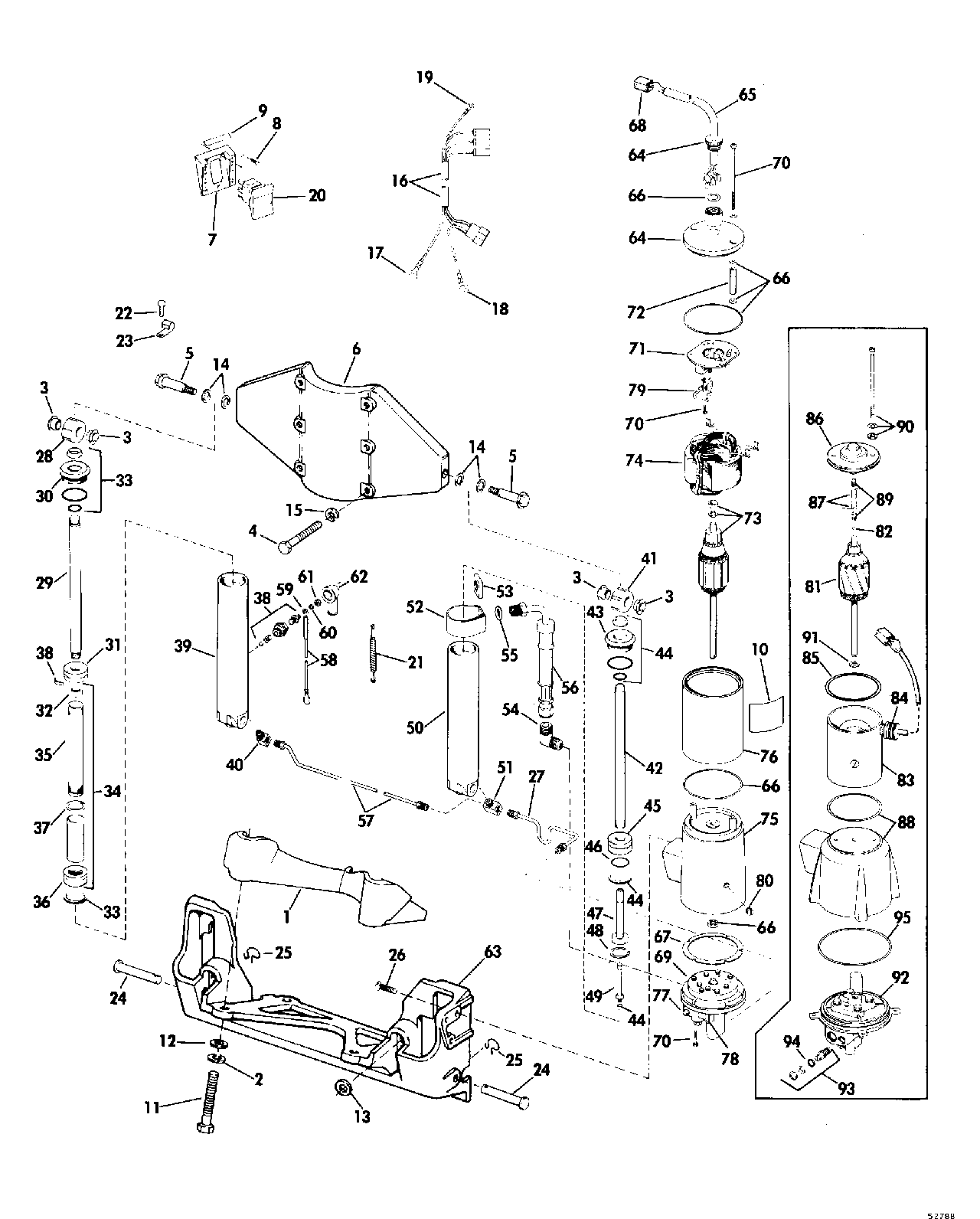Wiring Diagrams For 1986 115 Johnson Outboard, Wiring