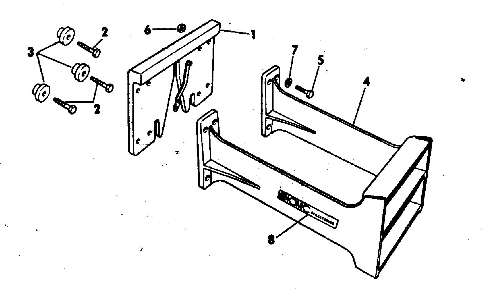 Transom Plate Amp Auxiliary Motor Bracket Kit 2