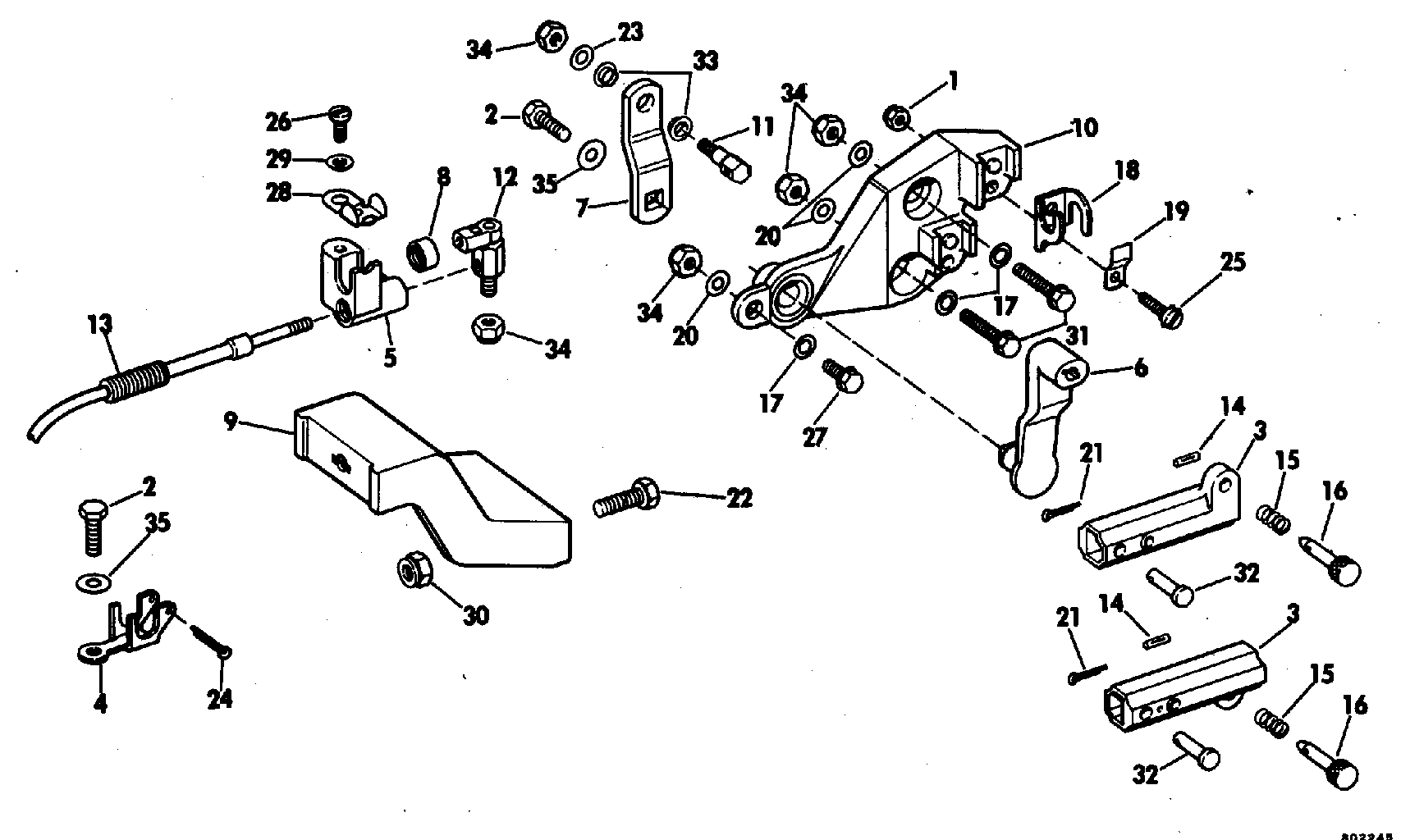 Remote Control Adaptor Kit 7.5 Remote Control 1981