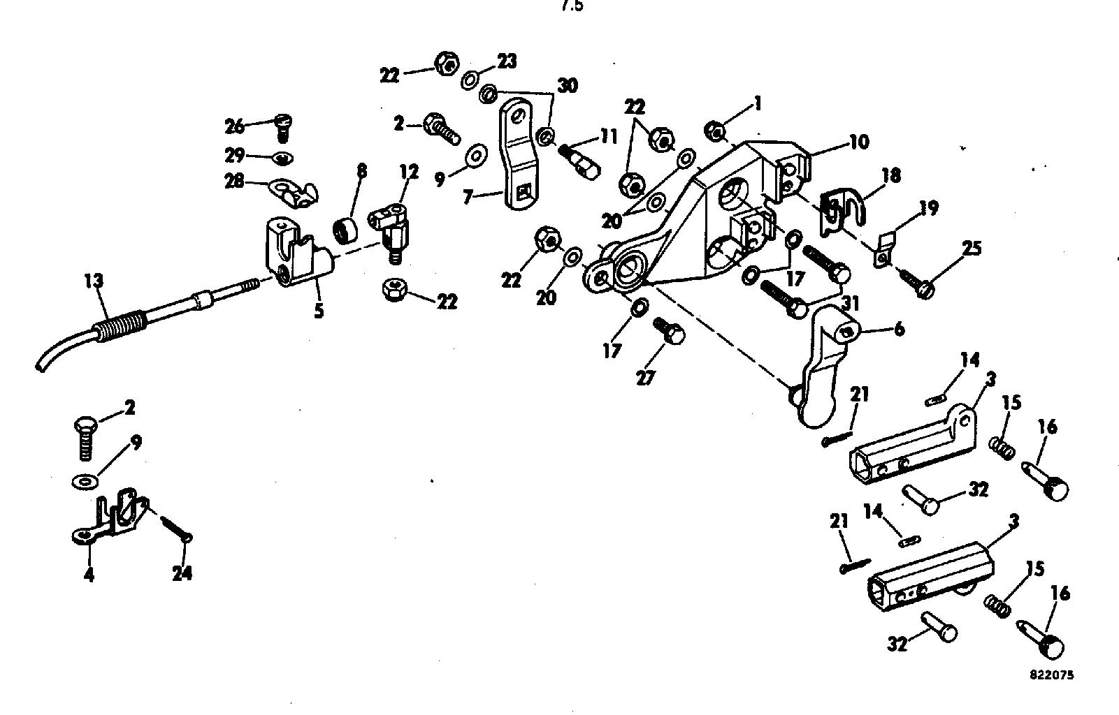 remote control adaptor kit 7.5 Remote Control 1982
