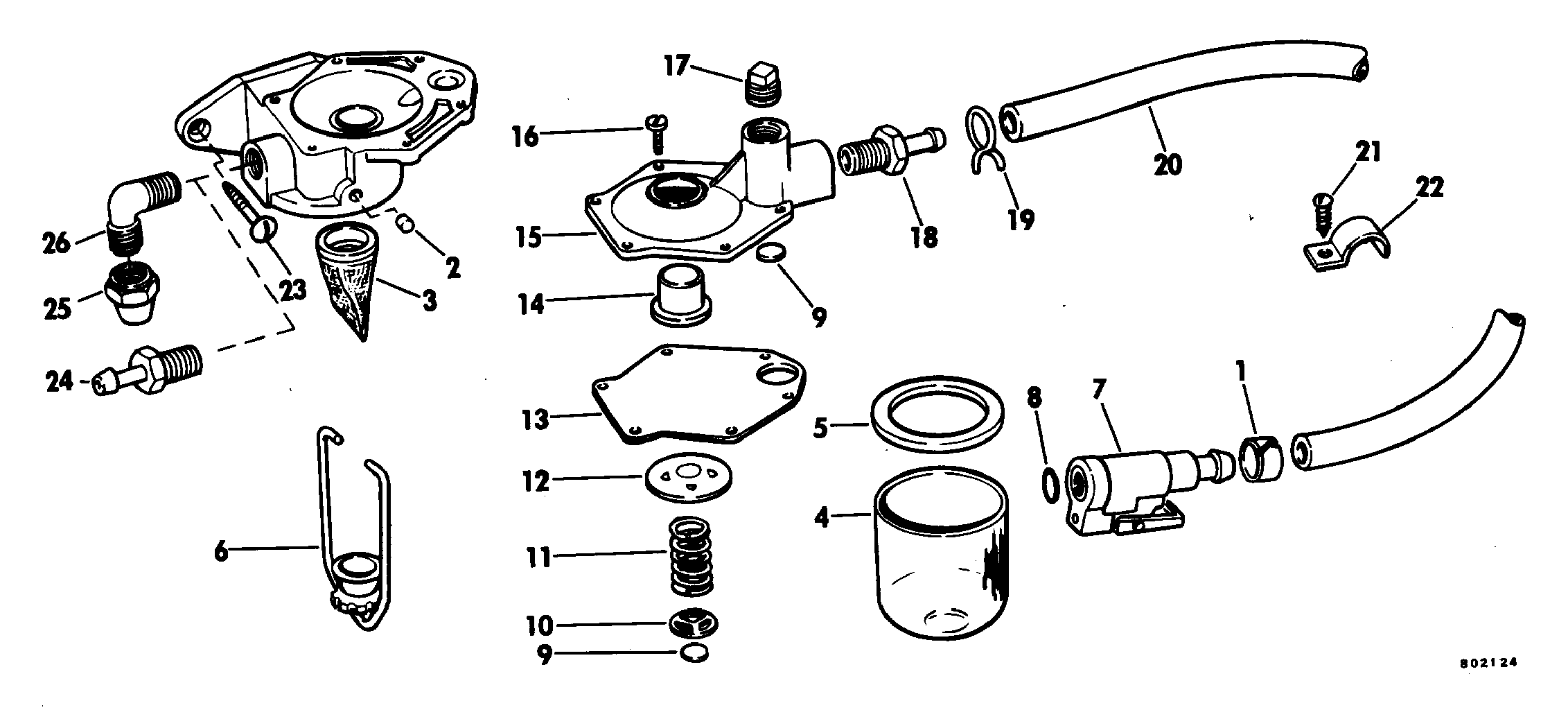 Primer Pump Kit Fuel System 1983 Accessories for 1983