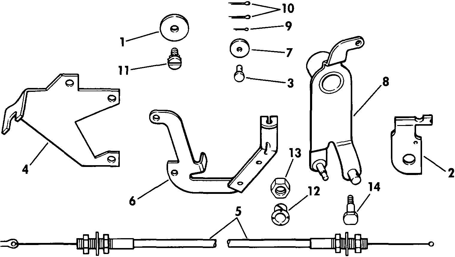 Tilt Lock Release Kit 65, 70, 75, 90, 115 Miscellaneous