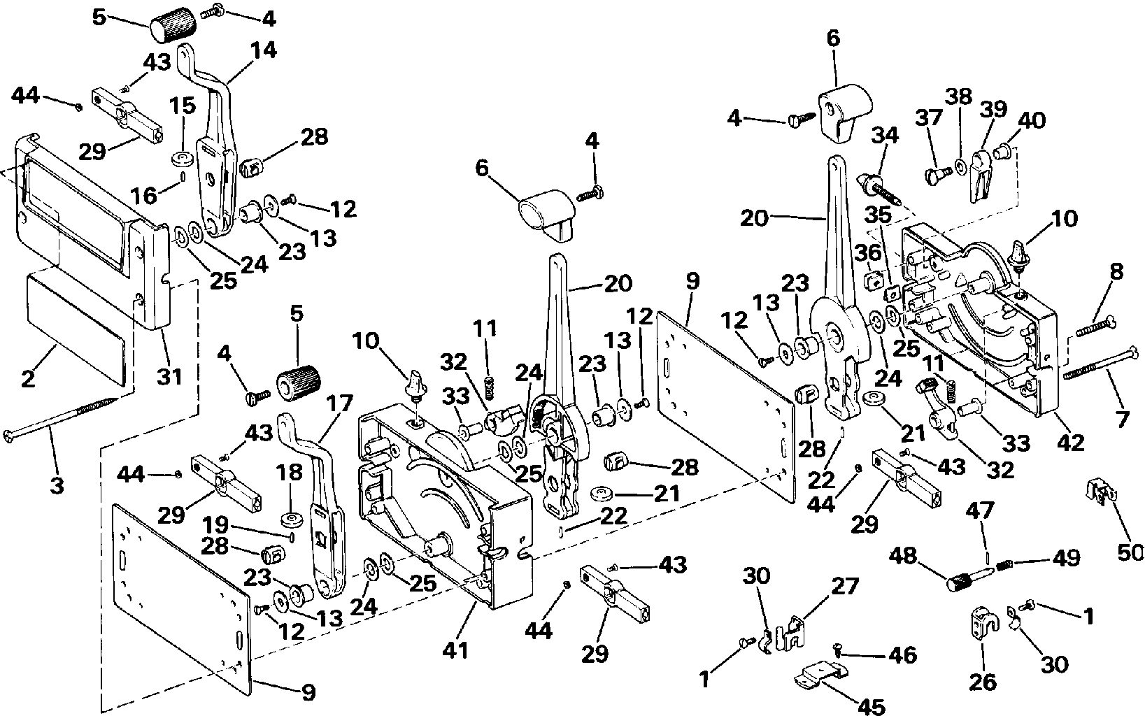 Omc Outdrive Diagram