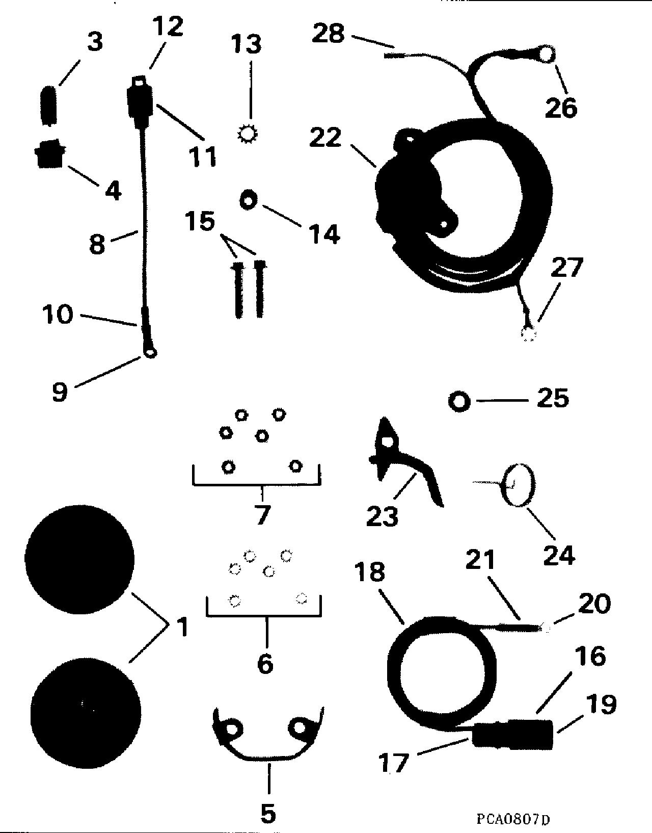 Trim Gauge Amp Sender Kit