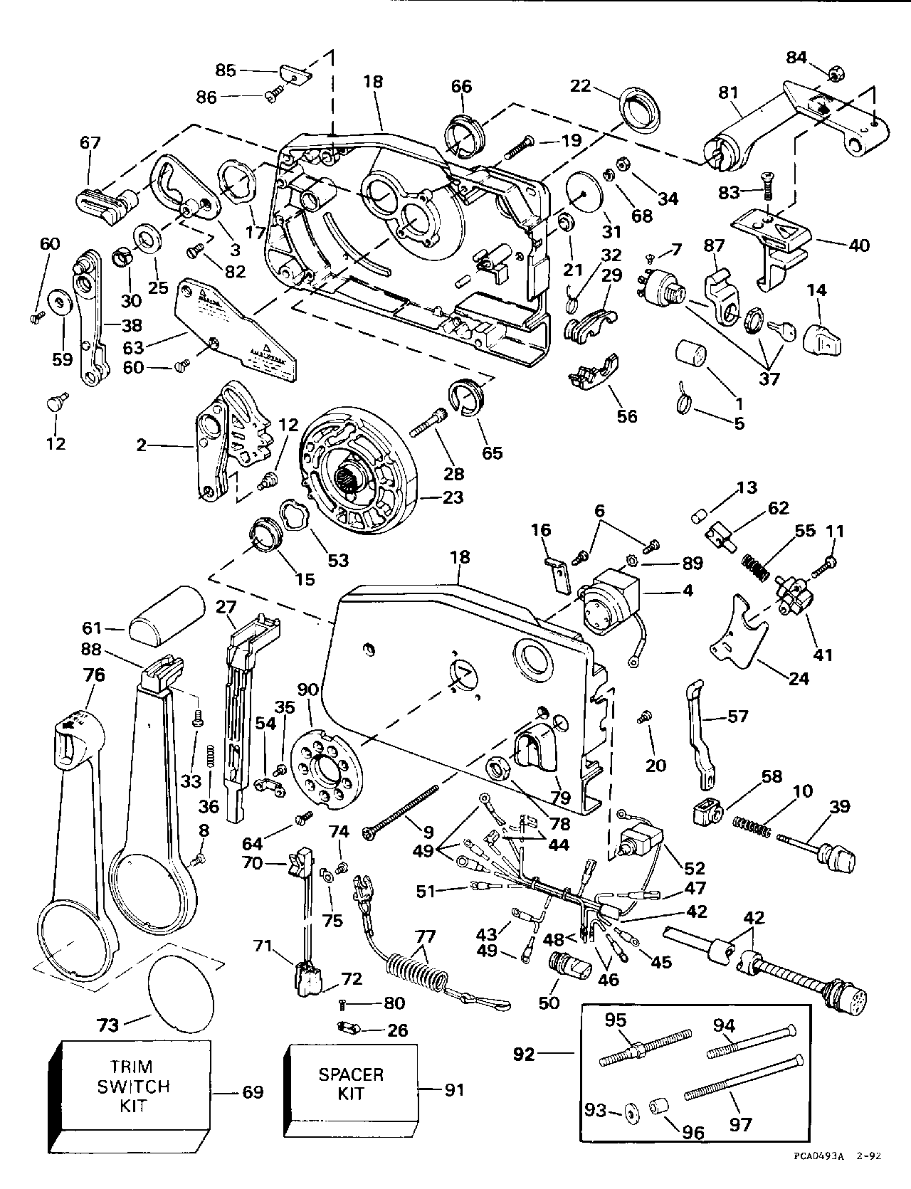 1996 evinrude ignition wiring diagram technical information