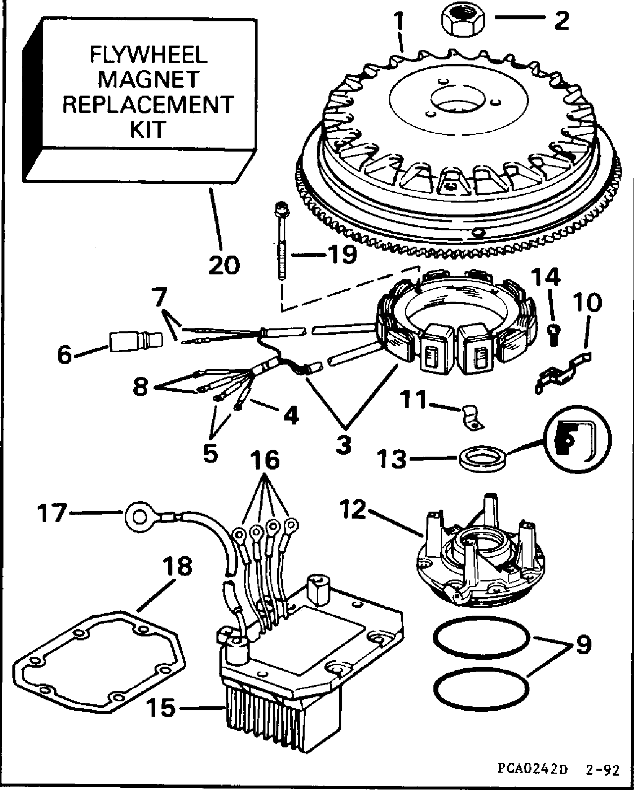 Alternator Kit 35 Apm
