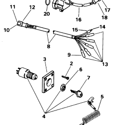 ignition switch kit single bezel electrical 1996 accessories for diagram of 1978 electrical omc outboard accessories wiring kitsingle [ 1280 x 1648 Pixel ]
