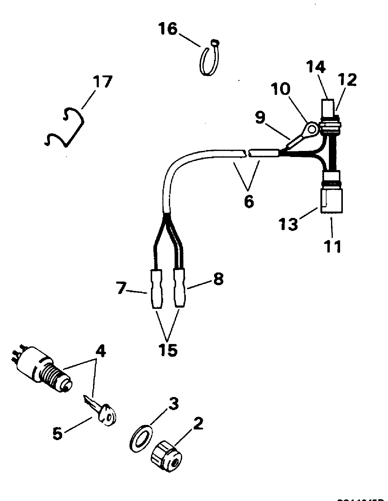 Johnson Electric Trolling Motor Parts