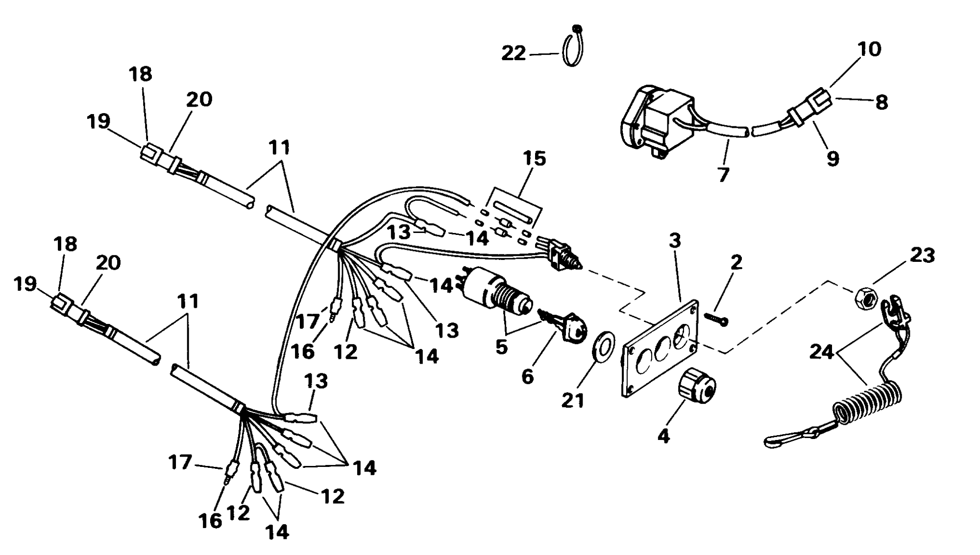 hight resolution of 5005800 brp evinrude ignition switch wiring diagram wiring diagram omc ignition wiring diagram 19880evinrude ignition switch