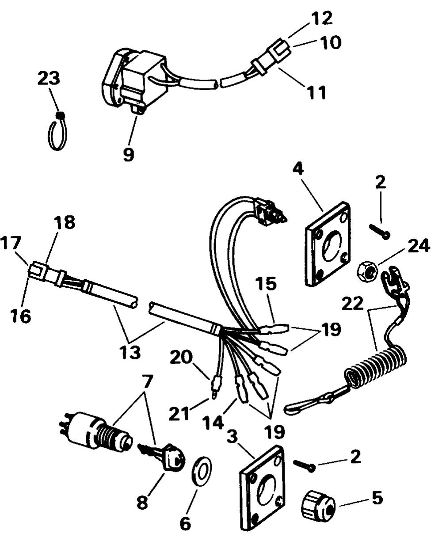 medium resolution of engine section ignition switch kit single bezel electrical