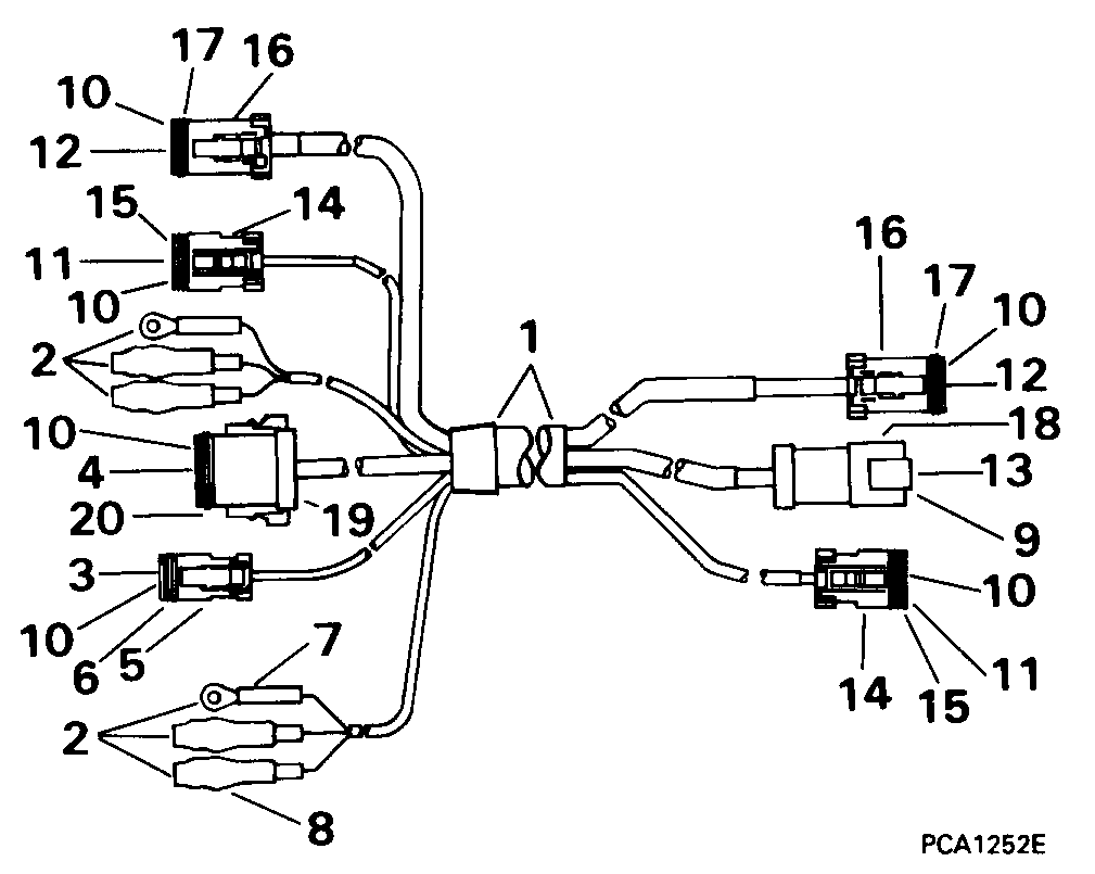 Wiring Diagram Marineengine Parts Johnson Evinrude