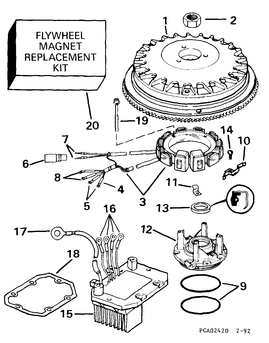 1976 20 Hp Mercury Outboard Parts Diagram Html