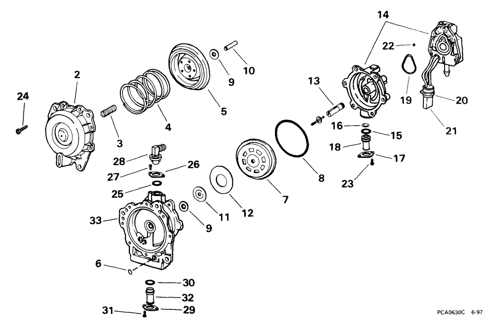 medium resolution of johnson vro fuel pump diagram wiring diagram for you fuel pump repair kits fuel systems 1999