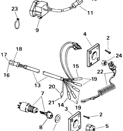 ignition switch remote stop switch system check electrical 2000 rh marineengine com boat ignition switch wiring diagram 1993 evinrude ignition switch wiring  [ 1728 x 2153 Pixel ]