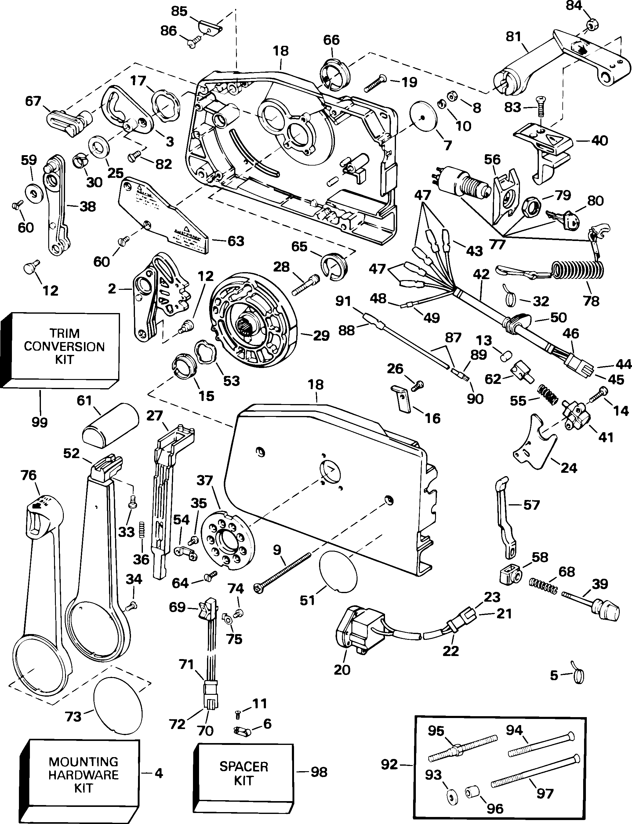 Wonderful mercruiser 470 alternator conversion wiring diagram 59075 mercruiser 470 alternator conversion wiring diagr y