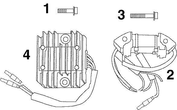 Battery Charging Kit (electric Start Models) 99 / 15hp (4