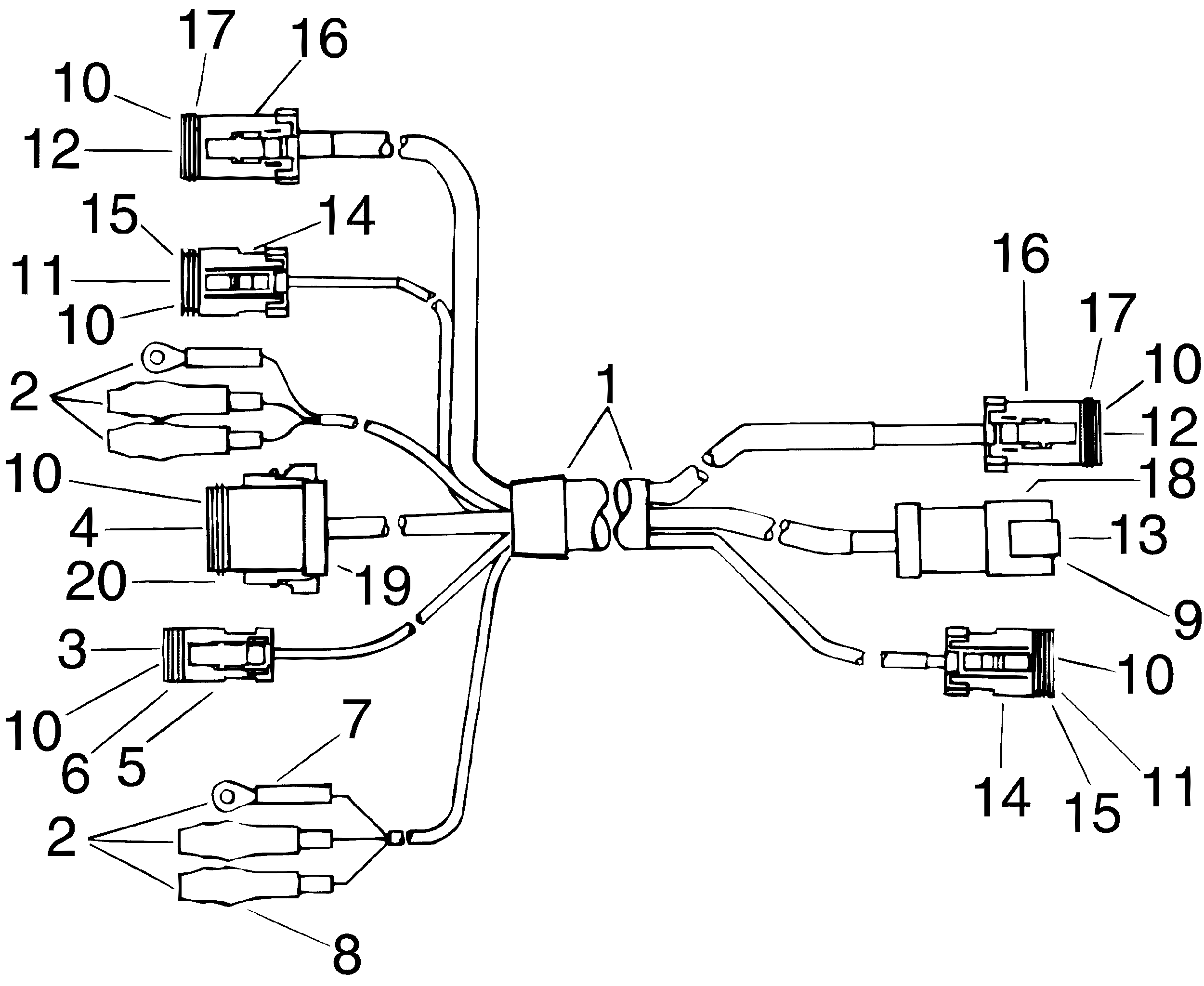 Johnson Wiring Harness Diagram Engine Wiring Diagram Images