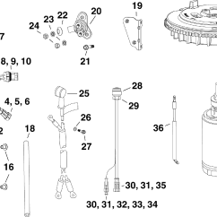 25 Hp Johnson Outboard Parts Diagram Ibanez Rg 770 Wiring Electric Start Kit 30 E Tec Electrical