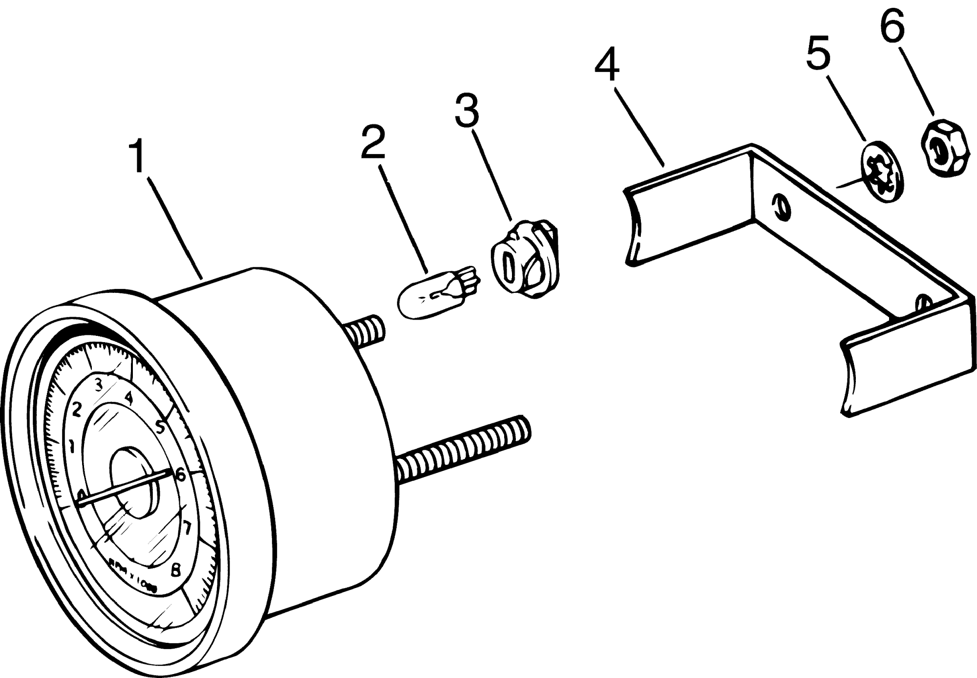 hight resolution of johnson outboard tachometer wiring