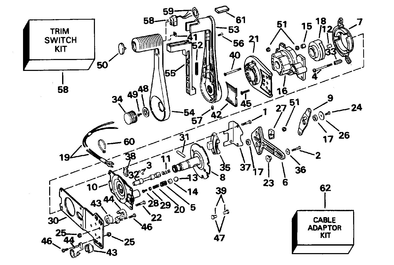 Yamaha 703 Remote Control Box