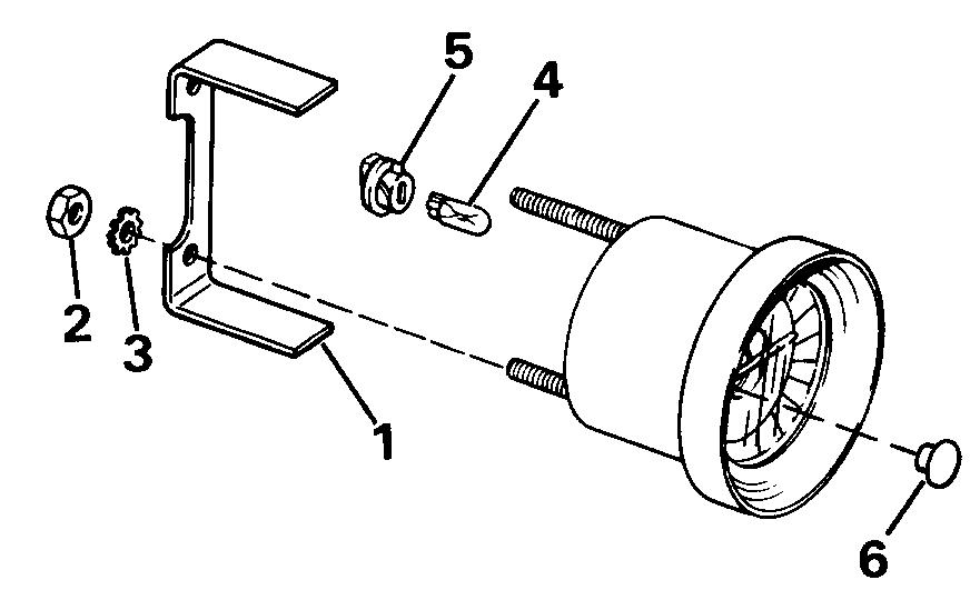 Water Temp, Voltmeter, Ammeter, Oil Press. Trim, Fuel