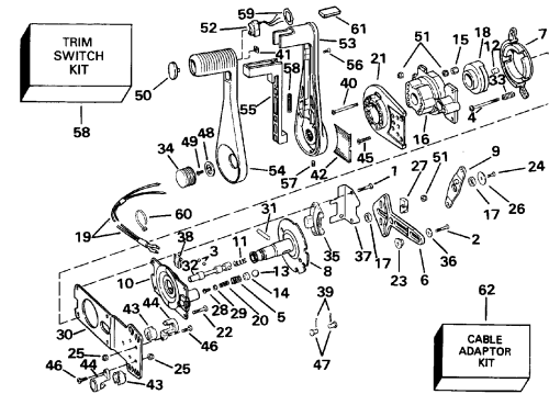 small resolution of omc shifter diagram just wiring diagram omc shifter parts omc shifter diagram
