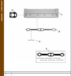 chris craft engine parts diagram [ 857 x 1249 Pixel ]