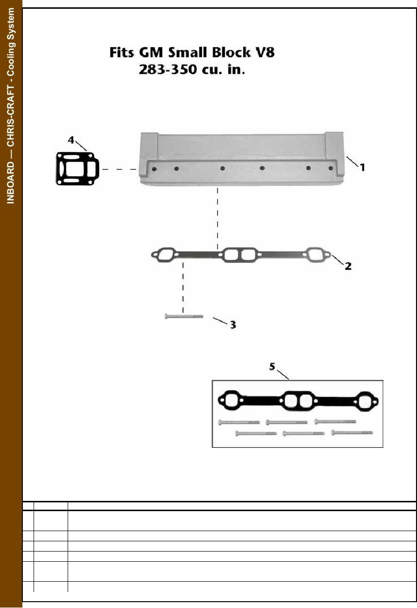 medium resolution of chris craft engine parts diagram