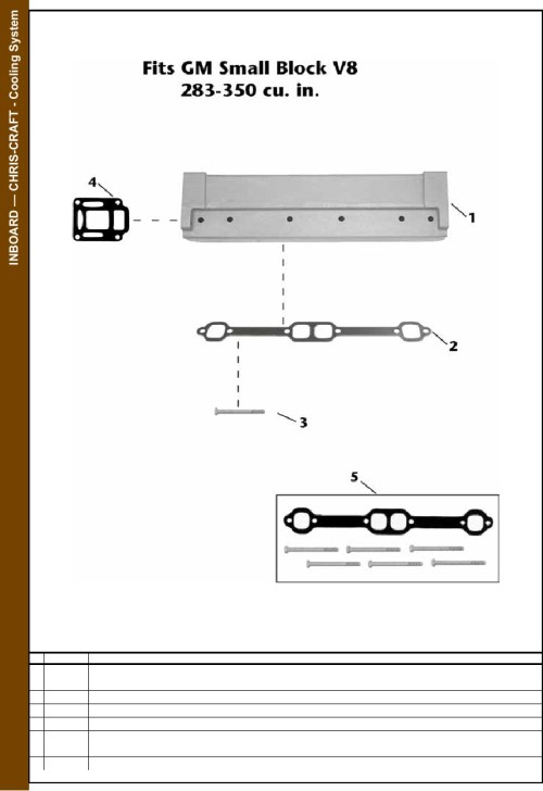 small resolution of chris craft engine parts diagram