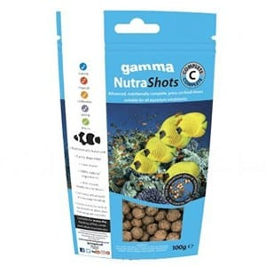 Gamma NutraShots Complete available at Marine Fish Shop