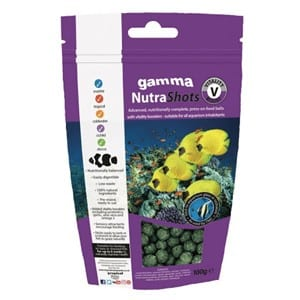 Gamma NutraShots Vitality Boost available at Marine Fish Shop