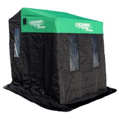 Ice Fishing Chair Shelter Green Slipcover Shelters Sleds Marine General Runner Accessories