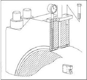 Procedure for Removing Main Bearing of MAN B&W MC-C Engine