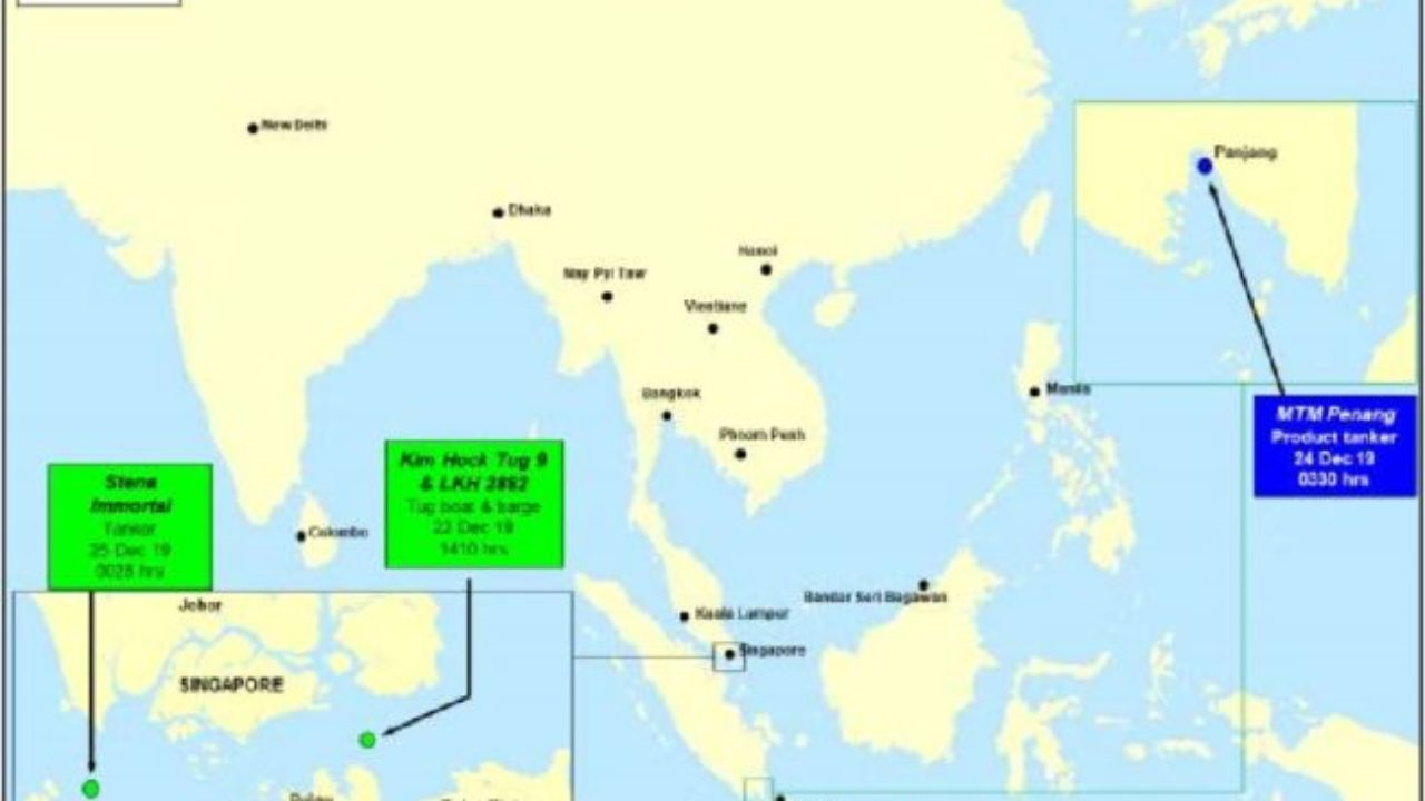 Pirates Chase Singapore Registered Bulk Carrier In Gulf Of Guinea Recaap Piracy Report
