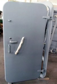 Steel / Stainless Steel Marine Watertight Doors ...