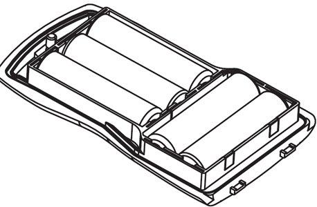 Cobra Marine CM 110-035 batteria per 5 pile stilo HH600