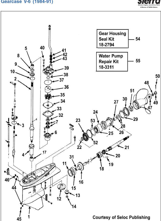 Yamaha seal kits and shafts