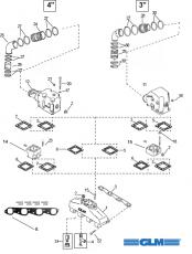 Reservdelar » Inombordare » MerCruiser » Motordelar
