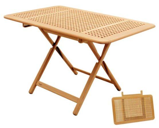Table in massif teak