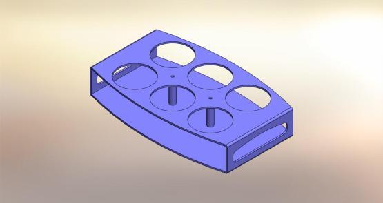 Plexyglass tray