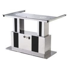 Syncronized table pedestal operating with battery 12 v.