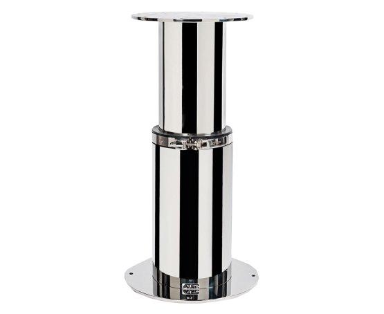 Manual round table pedestal