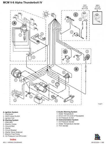 Inkoppling elektrisk bränslepump, hjälp... mercruiser 4,3