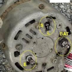 Alternator Wiring Diagram Bosch Lutron Dimming Ballast Hjälp Med Anslutningar På Hitachi-generator - Seglarsnack Maringuiden