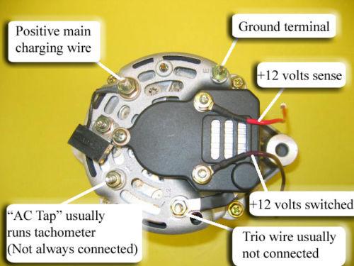 mercruiser 260 alternator wiring diagram volvo generator 5,7 l - motorbåtsnack maringuiden