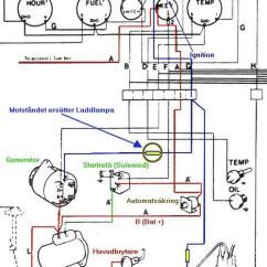 Voltmeter Wiring Diagram Double Light Switch Australia Laddningslampa - Motorbåtsnack Maringuiden
