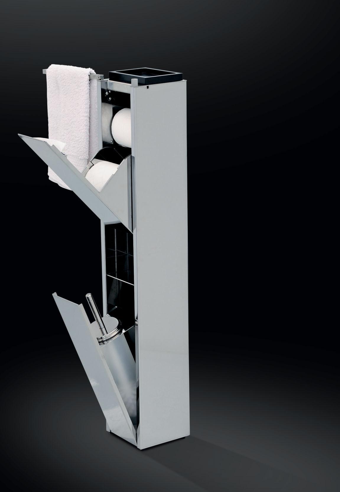Accessori arredo bagno in acciaio inox su misura  Marinox